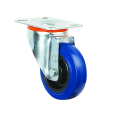 ELASTIC CASTORS - SWIVEL TOP PLATE