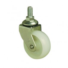 50mm FURNITURE CASTERS - SWIVEL - M10 STUD