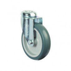 RETAIL & DISPLAY CASTORS - SWIVEL - SINGLE BOLT HOLE